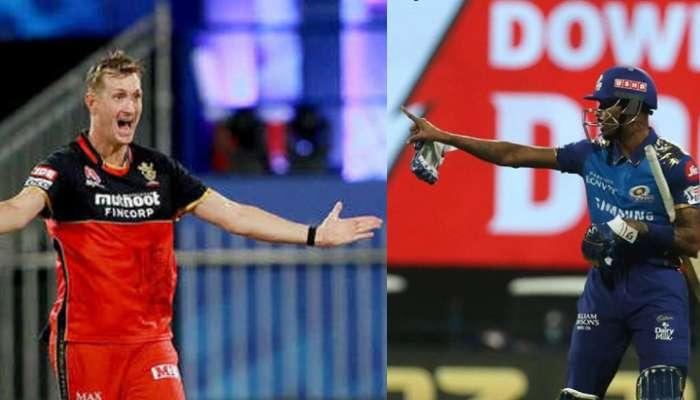 IPL 2020: বিতর্কে জড়ালেন হার্দিক পান্ডিয়া এবং ক্রিস মরিস