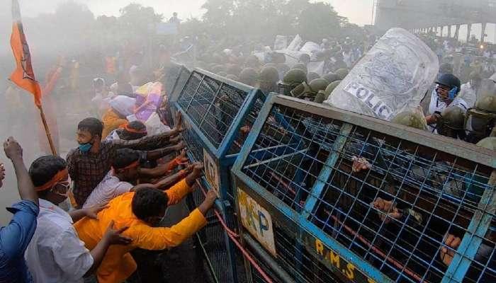 এবার উত্তরকন্যা অভিযানে BJP, নবান্নের মার খাওয়া কর্মীদের সংবর্ধনা