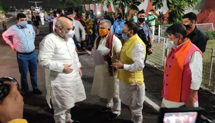 পাখির চোখ 'একুশের বাংলা', সংগঠন গোছাতে কলকাতায় অমিত শাহ