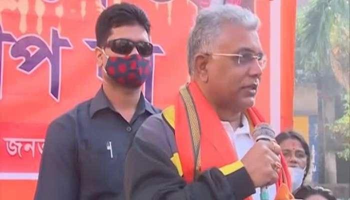 Dilip Ghosh again slams mamata