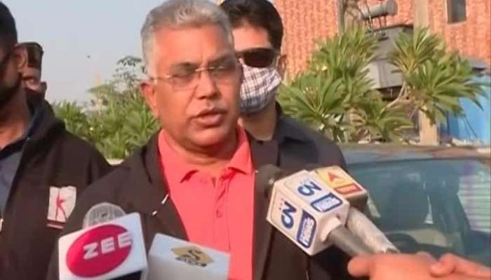 'TMC in disaster Management Stage, even has no power to expel anybody':Dilip Ghosh