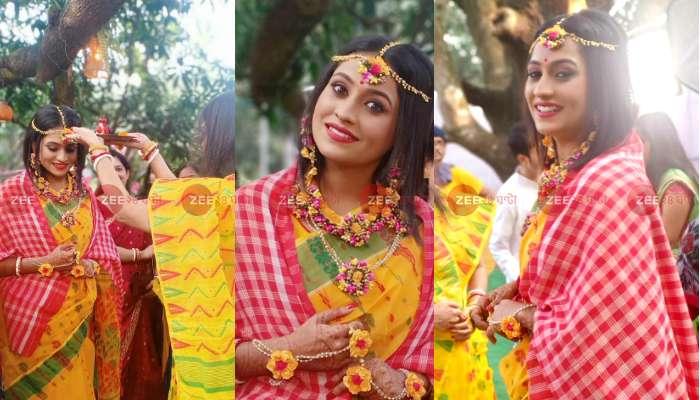 আজই বিয়ে, সকালে নান্দীমুখ ও গায়ে হলুদের অনুষ্ঠানে 'জয় বাবা লোকনাথ'-এর 'হেমনলিনী'