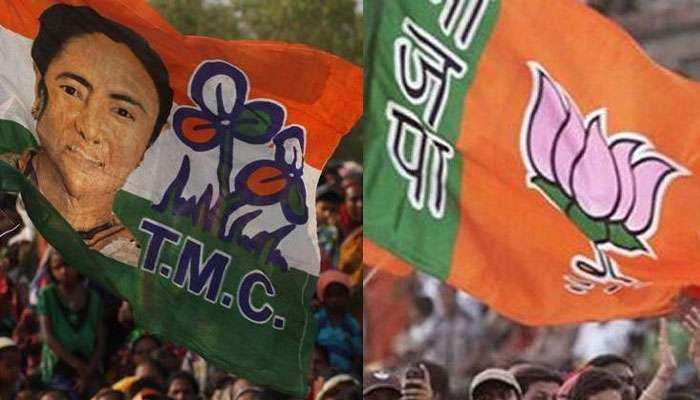দিলীপের সভার আগে ধুন্ধুমার বেলাদায়, তৃণমূলের অফিস ভাঙচুরের অভিযোগ BJP-র বিরুদ্ধে