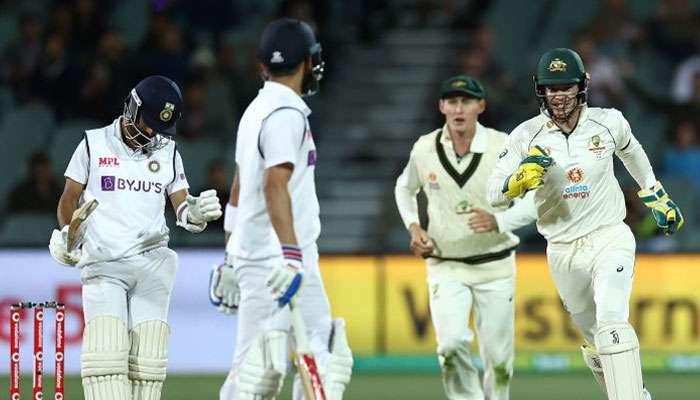 Australia vs India, 1st Test: 'বিরাট' ভুল বোঝাবুঝি! পিঙ্ক টেস্টে রান আউট Kohli, 'ক্ষমা' চাইলেন Rahane