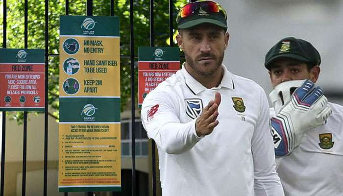 South Africa ক্রিকেটে চাঞ্চল্য! Covid আক্রান্তের সঙ্গে খেলেছেন ১০ প্রোটিয়া টেস্ট ক্রিকেটার