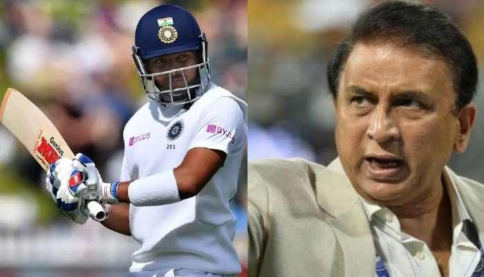 Boxing Day Test : পৃথ্বী শ'কে বাদ দিয়ে কাকে নেওয়া উচিত! জানালেন Gavaskar