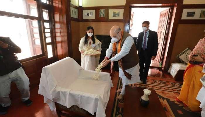 সংকীর্ণতার বেড়ি ভাঙাই রবীন্দ্র-শিক্ষার উদ্দেশ্য, 'বহিরাগত'র পাল্টা  Amit Shah