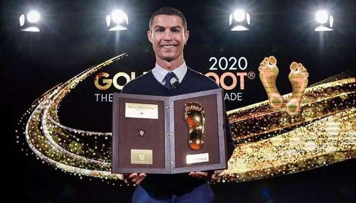 Messi পাননি, Ronaldo পেলেন; Golden Foot জিতে আবেগঘন বার্তা দিলেন CR7