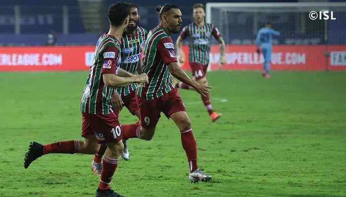 ISL 2020-21: ডেভিডের গোলে Bengaluru FC-র অপরাজিত দৌড় থামাল ATK Mohun Bagan