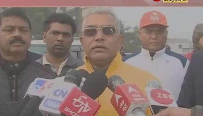 Dilip Ghosh comments on TMC rebel Minister Rajib Banerjee