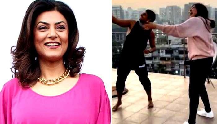 'ভো কাট্টা', ঘুড়ি ওড়ানোর আনন্দে 'উড়লেন' Sushmita