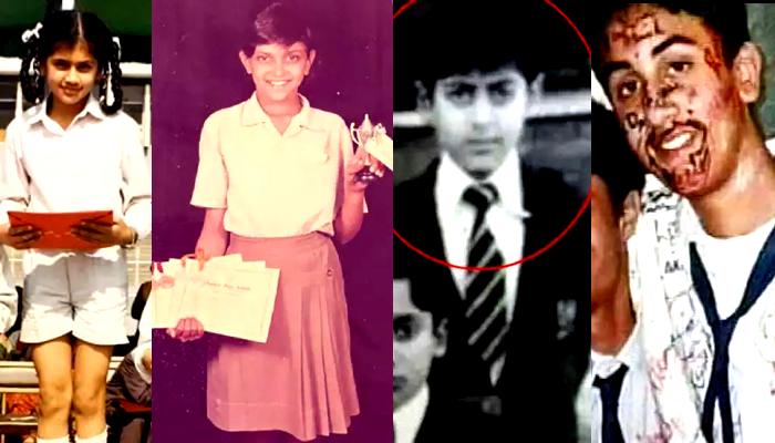 School-এর পোশাকে Tapsee, Deepika, Salman, Ranbir-রা