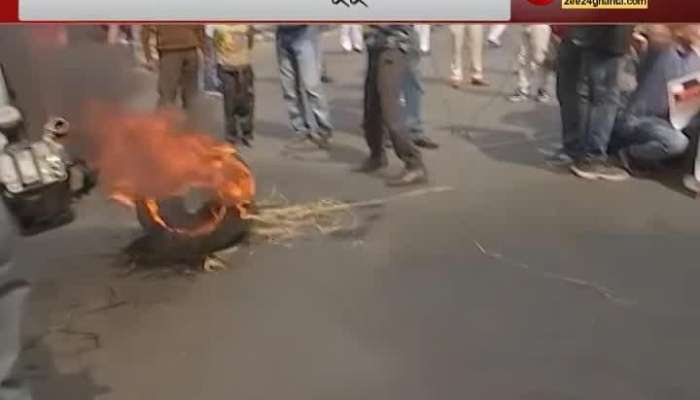 left congress joined strike at moulali