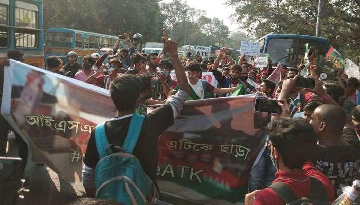মোহনবাগান তাঁবুতে সমর্থকদের বিক্ষোভ, উঠল Remove ATK স্লোগান