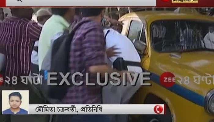 On duty police beaten by DYFI workers