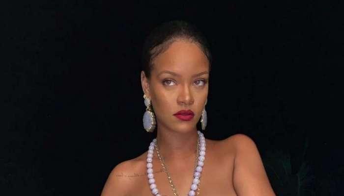 টপলেস Rihanna-র গলায় গণেশের লকেট, জোরদার বিতর্ক