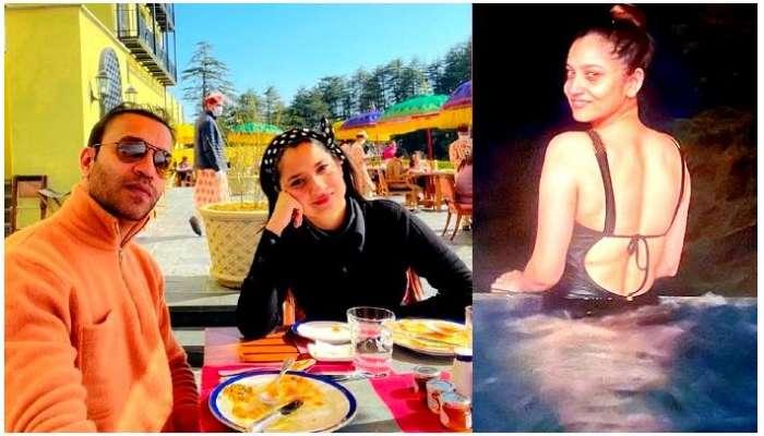 Vicky Jain-র সঙ্গে ছুটি কাটাচ্ছেন, সুইমস্যুটে HOT Ankita Lokhande