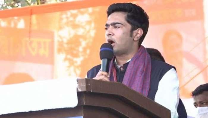 Abhishek Banerjee Live Thakurnagar | Live: মতুয়া মন পেতে আজ ঠাকুরনগরে  অভিষেক