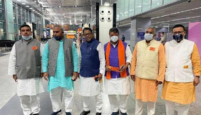 দফায় দফায় প্রার্থী ঘোষণা করবে BJP, দিল্লি গেলেন Dilip-Mukul-Suvendu-রা