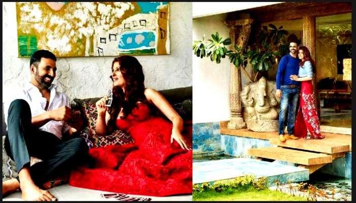 সৈকত সংলগ্ন Akshay-Twinkle-র ডুপ্লেক্সের অন্দরমহল ঘুরে দেখা যাক