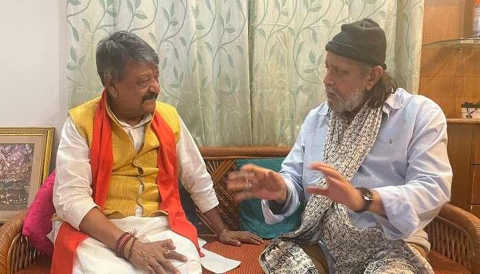 WB Assembly election 2021: 'ওঁর দেশভক্তি দেখে মন ভাল হল' মিঠুনের সঙ্গে সাক্ষাতের পর টুইট আপ্লুত কৈলাসের