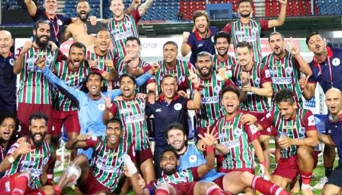 ISL 2021: দ্বিতীয় লেগে হাড্ডাহাড্ডি লড়াই, Northeast-কে হারিয়ে ফাইনালে ATK Mohun Bagan
