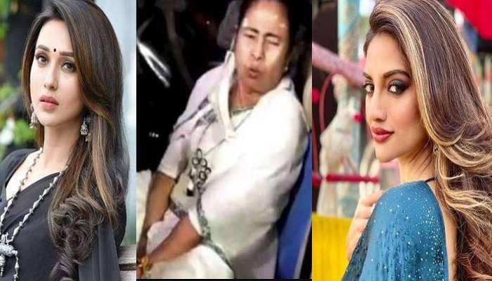 WB assembly election 2021 : সুস্থ হয়ে উঠুন 'মাই কুইন', Mamata-র আরোগ্য কামনায় Mimi, Nusrat