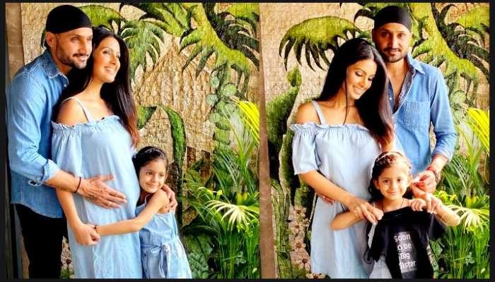 দ্বিতীয়বার বাবা-মা হচ্ছেন অভিনেত্রী Geeta Basra ও Harbhajan Singh