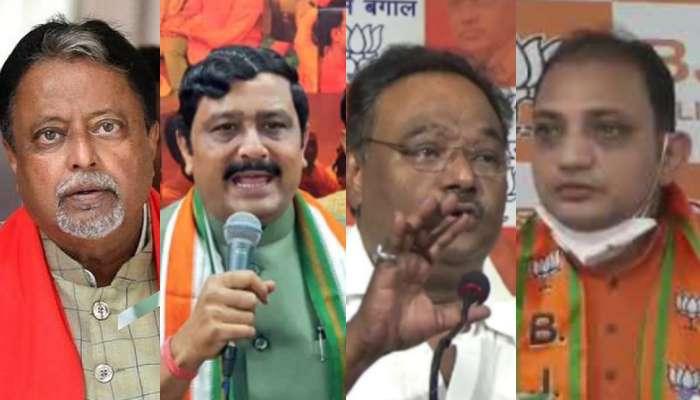 West Bengal Election 2021: সপুত্র প্রার্থী Mukul; তালিকায় Rahul, Samik, Raju ও Sabyasachi