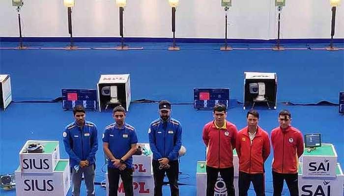 ISSF World Cup: ১০ মিটার এয়ার পিস্তলে সোনা ভারতের ছেলে ও মেয়েদের