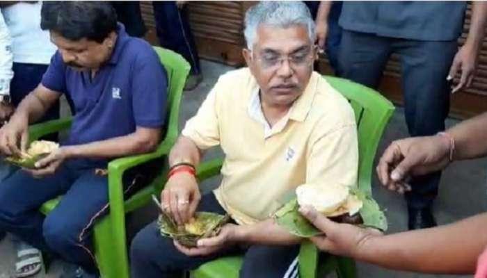 WB assembly election 2021 : 'মাঝারি মাপের নেতারাই ব্ল্যাকমেল করছেন মুখ্যমন্ত্রীকে', অনুব্রত প্রসঙ্গে কটাক্ষ দিলীপের