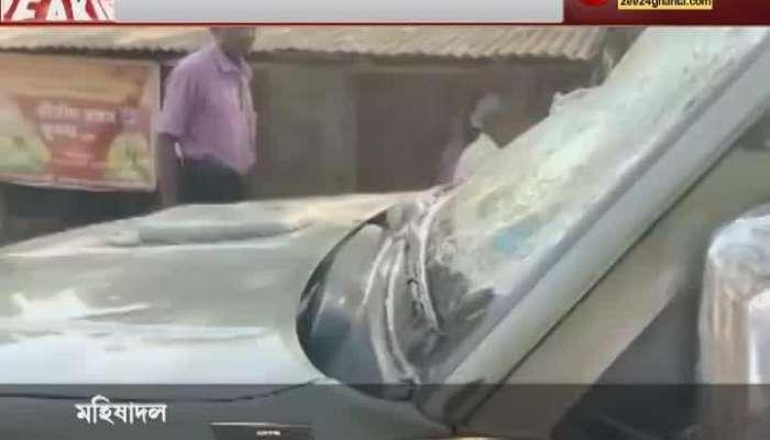 Zee 24 Ghanta Journalist Attacked at Keshpur
