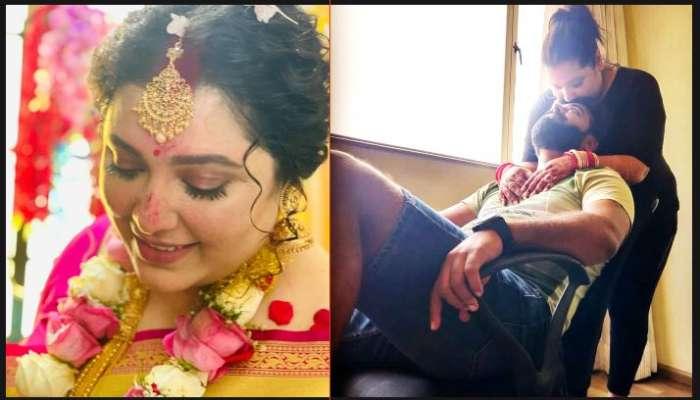 বিয়ের পর স্বামীর সঙ্গে রোম্যান্টিক ছবি পোস্ট subhashree-র দিদি দেবশ্রীর
