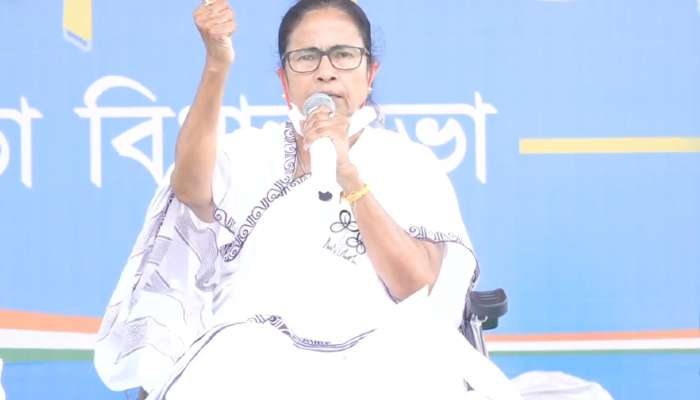West Bengal Election 2021: একটা পায়ে বাংলা জয়, আর দু'টো পায়ে আগামী দিনে দিল্লি জয় করব: Mamata