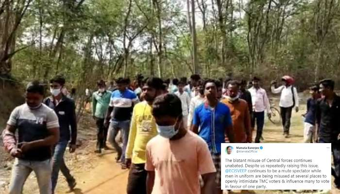 West Bengal 3rd Phase Election 2021: গোঘাটে ভোটারদের মারধরের অভিযোগ, বাহিনীর 'অপব্যবহারে' ক্ষুব্ধ Mamata