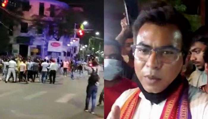 WB Assembly Election 2021: চেতলায় বিজেপি-তৃণমূল সংঘর্ষ, ফিরহাদের এক 'অনুগামী'-র দিকে আঙুল তুললেন রুদ্রনীল
