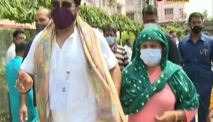 Babul quarrels with female voters in Tollygunge, alleging printing and rigging in booths with other voter cards