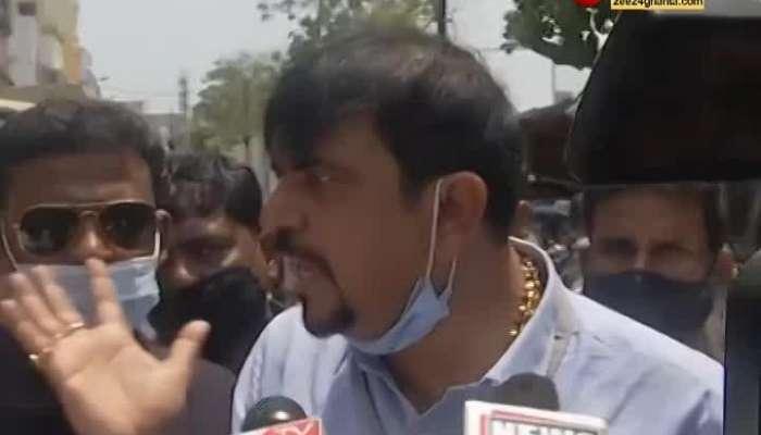 Saltlake's BJP-Trinamool clash, Sujit Basu arrives at the scene, his allegations against BJP