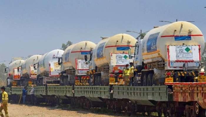 ছবি: কোভিড-রোগীকে বাঁচাতে ছুটে যাবে ভারতীয় রেলের প্রথম  'Oxygen Express'