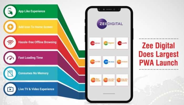 organic traffic-য়ে আরও বৃদ্ধির দিকে তাকিয়ে Zee Digital আনছে Progressive Web Apps