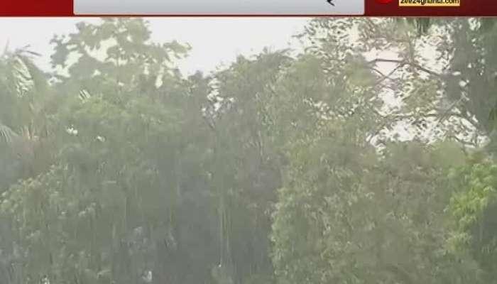 Heavy rain in and around kolkata ahead of cyclone YAAS