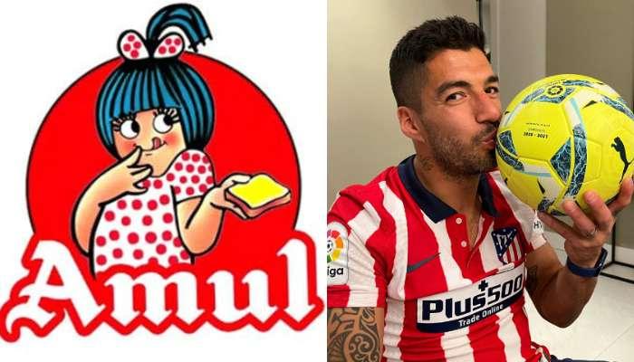 মেসিদের Barcelona কে খোঁচা দিয়েই Luis Suarez কে কুর্নিশ করছে Amul