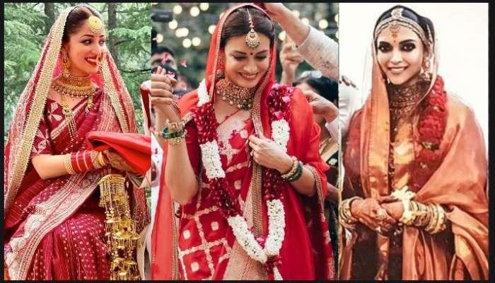 Yami, Dia, Deepika, Aishwarya, বিয়ের দিন শাড়িই যাঁদের প্রথম পছন্দ