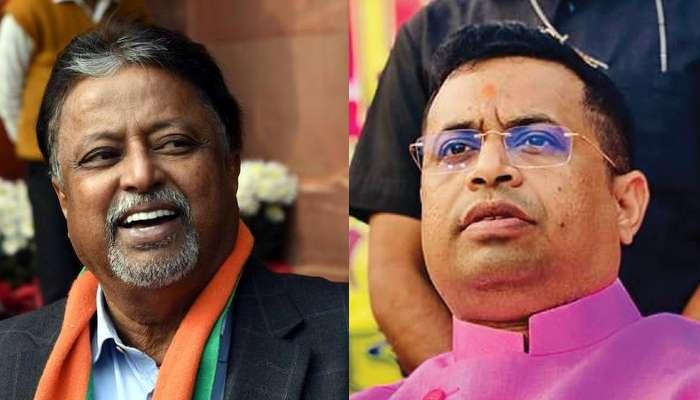 রাজনীতিতে 'হাতে খড়ি' দেওয়া Mukul-র বাড়িতে Saumitra, শুরু রাজনৈতিক জল্পনা