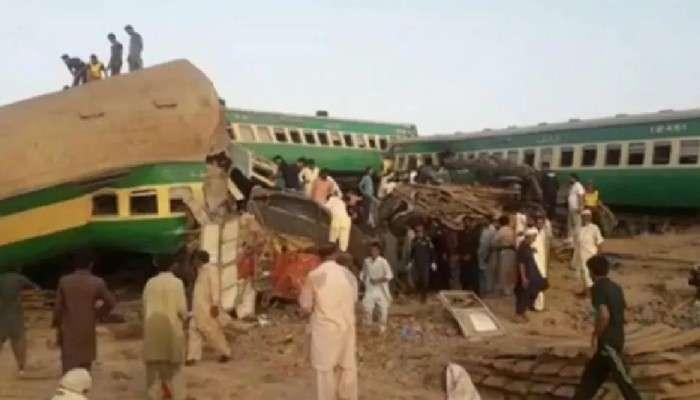 Pakistan-এর সিন্ধপ্রদেশে ভয়াবহ Train Accident, মৃত কমপক্ষে ৩০, আহত ৫০-এর বেশি