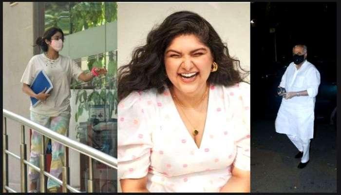 সৎ দিদি Anshula-কে দেখতে হাসপাতালে Janhvi Kapoor