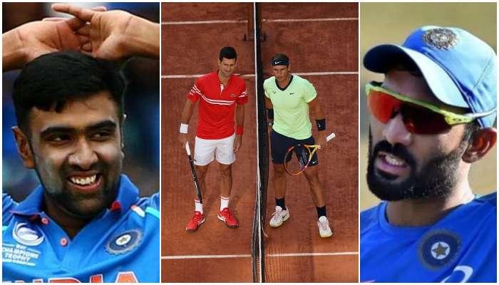 French Open 2021: Djokovic বনাম Nadal এর মহাকাব্যিক লড়াই দেখে ভারতীয় ক্রিকেটারদের কী প্রতিক্রিয়া!
