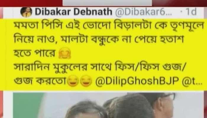 Tathagata Roy on Kailash, translated into English on Twitter