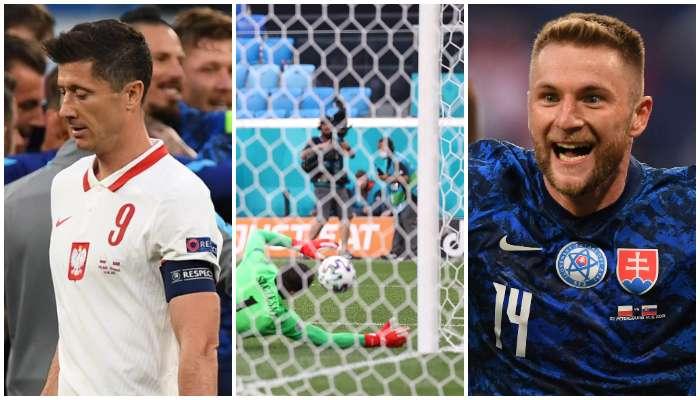 UEFA Euro 2020: আত্মঘাতী গোল করে ইউরোর ইতিহাসে গোলকিপার! স্লোভাকিয়া হারাল ১০ জনের পোল্যান্ডকে
