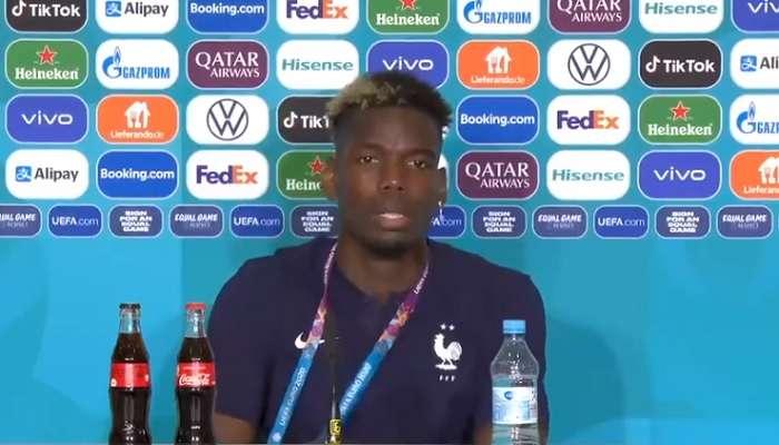 UEFA EURO 2020: Ronaldo কোলার বোতল সরিয়ে ছিলেন, Pogba তুলে নিলেন বিয়ারের বোতল